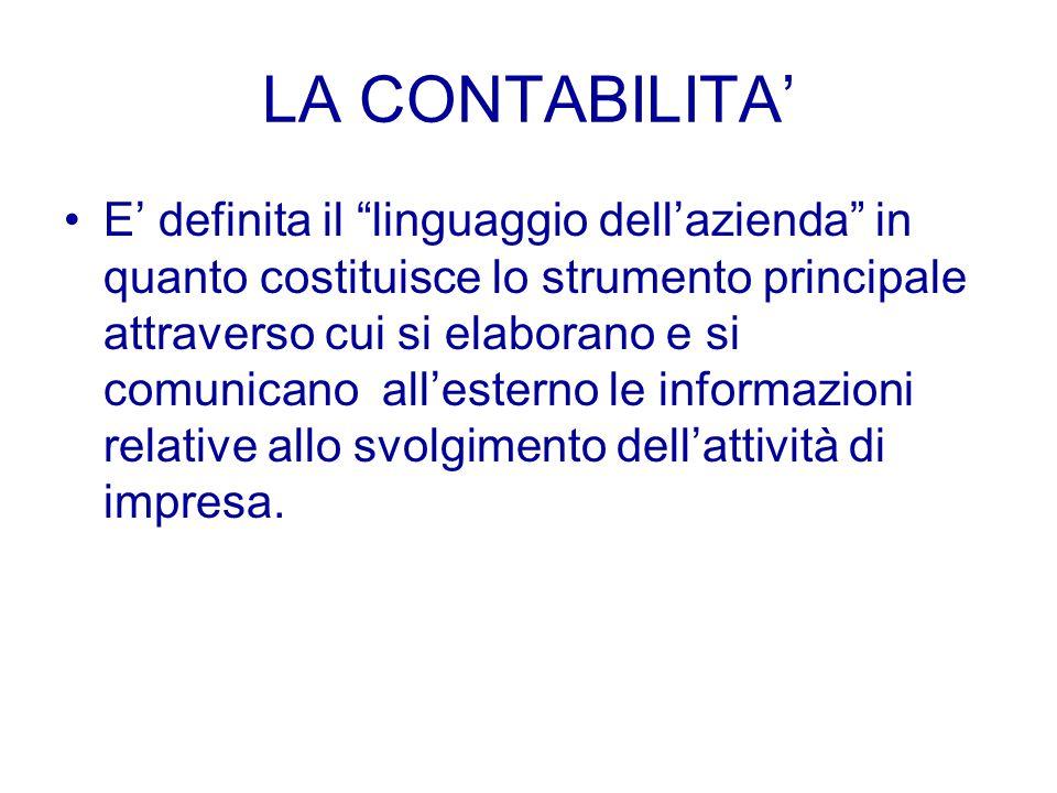 LA GESTIONE AZIENDALE CARATTERISTICA: riguarda le operazioni direttamente connesse all'attività principale dell'impresa PATRIMONIALE: operazioni che r