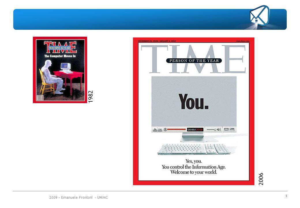 2009 – Emanuele Frontoni - UNIMC 24 Non a caso sono nati dei provider che ci hanno pensato in Italia si chiama www.davide.it È gratuito per i privati Ha POP in tutta Italia e quindi si fa sempre chiamata urbana Collegandosi a questo provider il filtro di siti violenti e porno è automatico.