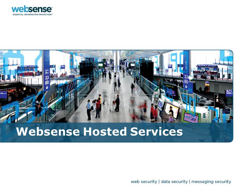 WEBSENSE CONFIDENTIAL 77 Prodotti disponibili Hosted Email Security: Antispam Antivirus Content Filter Encryption Hosted Web Security: Web Filter Web Protection