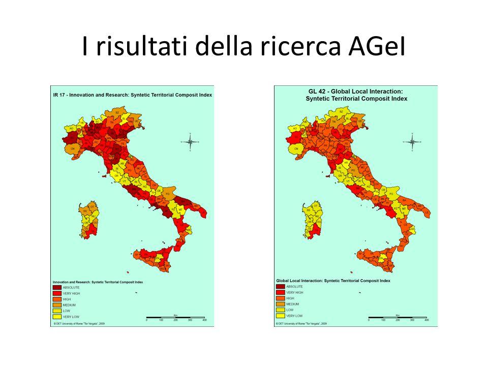I risultati della ricerca AGeI
