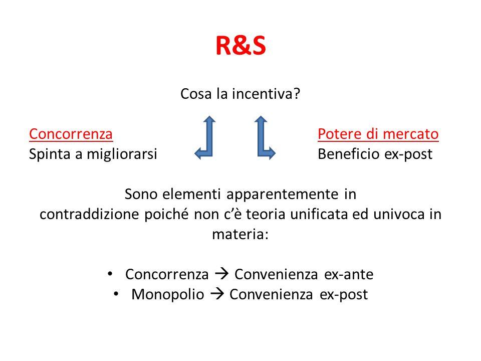 R&S Cosa la incentiva.