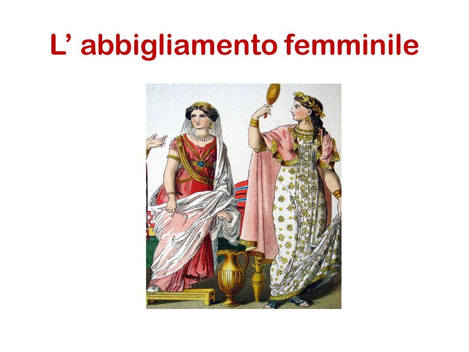 Donne Etrusche L'abbigliamento femminile troviamo anche gonne, casacche, corpetti.