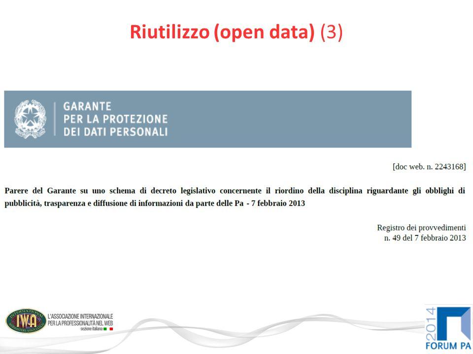 Riutilizzo (open data) (3)