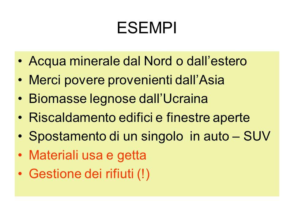 Alcuni esempi Decine di comuni italiani hanno superato il 70% di R.D.