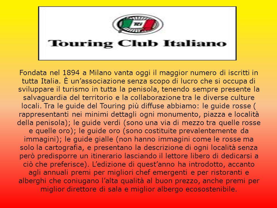 Fondata nel 1894 a Milano vanta oggi il maggior numero di iscritti in tutta Italia.
