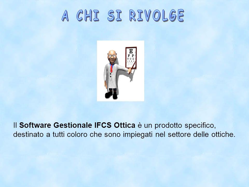 Con il Software IFCS Ottica sarà possibile creare infinite locazioni (magazzini) a cui assegnare la giacenza della merce, modificare e/o eliminare i magazzini già creati e/o trasferire la merce da un magazzino all altro.