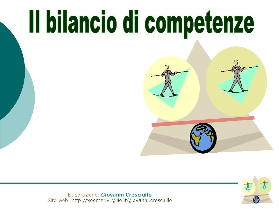 Elaborazione: Giovanni Cresciullo Sito web: http://xoomer.virgilio.it/giovanni.cresciullo