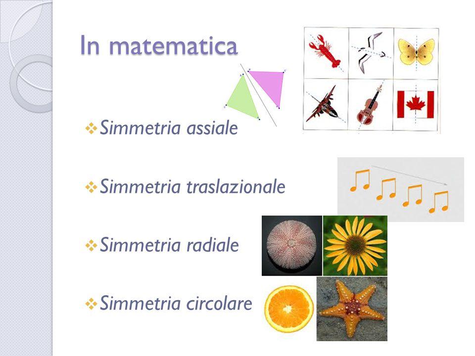 Simmetria = trasformazione dei punti del piano che lascia la figura invariata  Simmetria rotatoria  Simmetria centrale