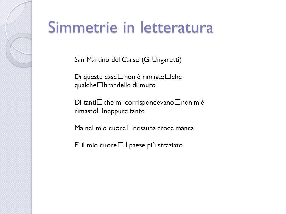 Simmetrie con le parole I palindromi  AEREA  74547  I TOPI NON AVEVANO NIPOTI  AI LATI D'ITALIA A E R E A