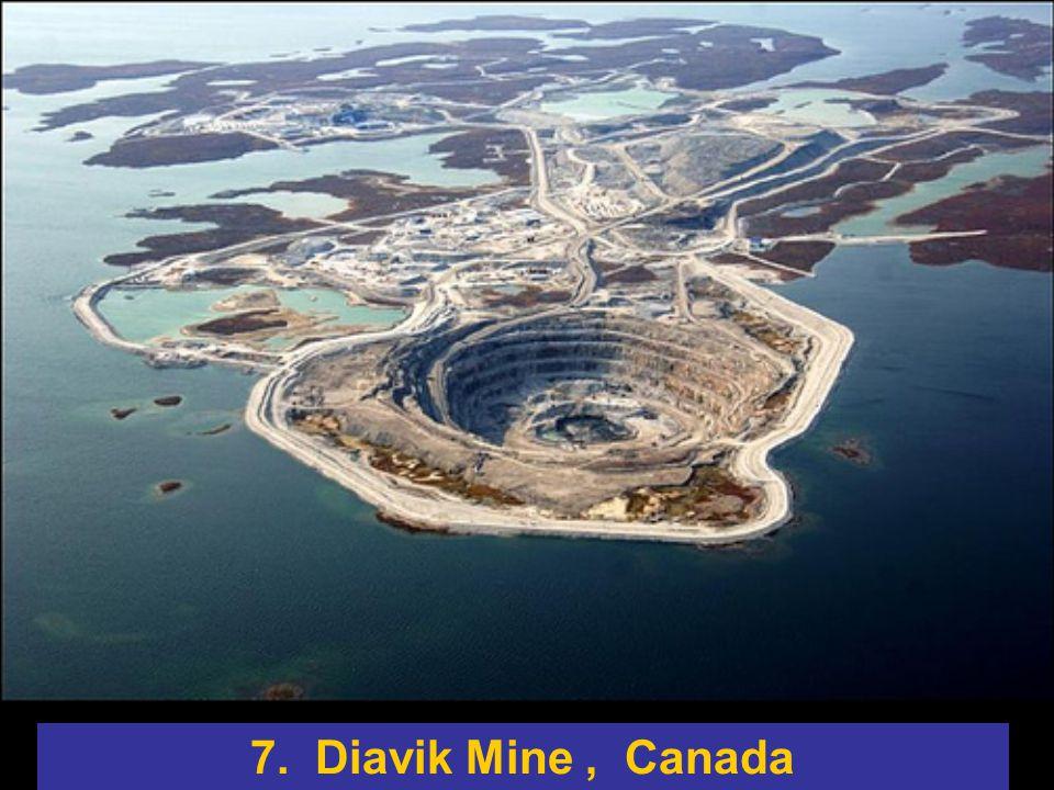 7. Diavik Mine, Canada