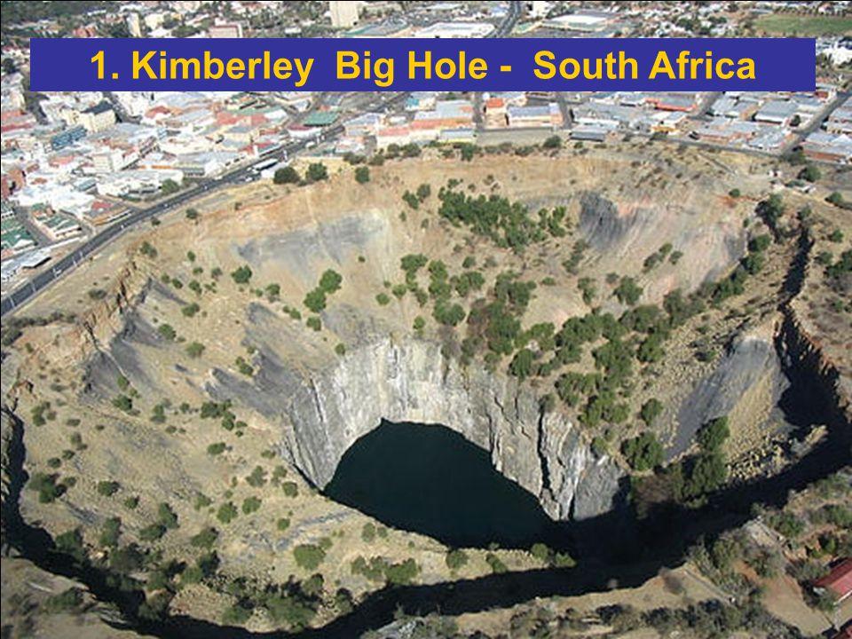 Apparentemente il più grande buco mai scavato sulla terra.