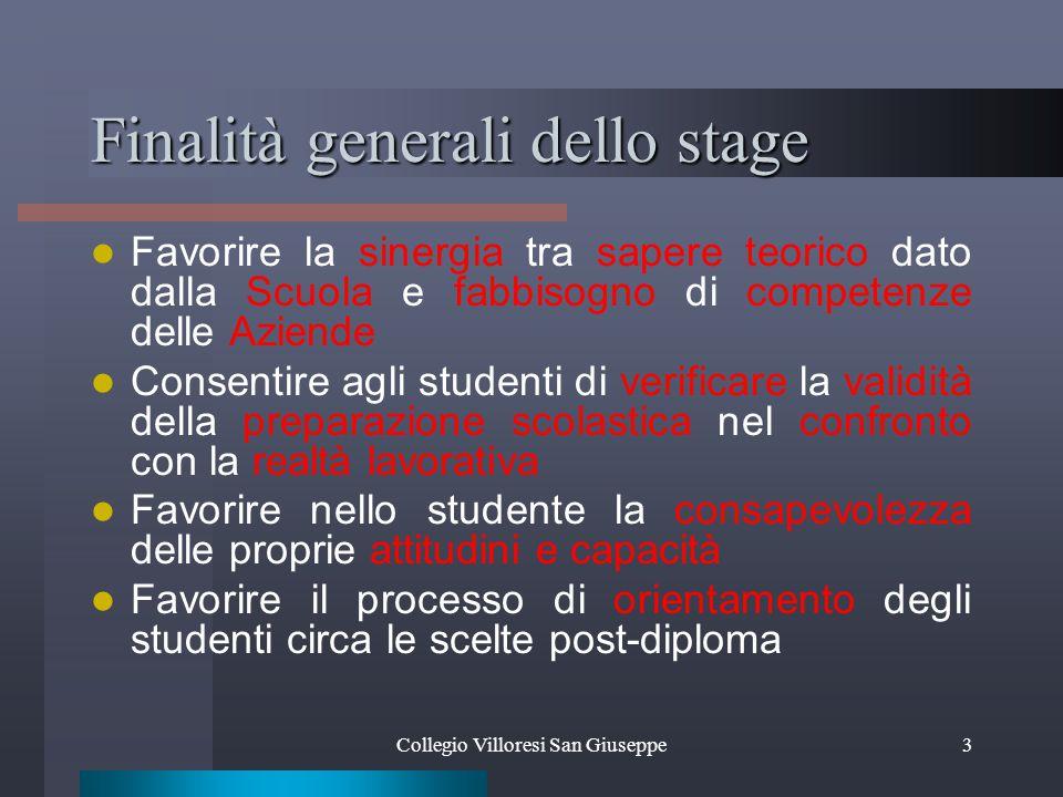 Collegio Villoresi San Giuseppe14 Studio professionale È partner della Scuola, in quanto soggetto attivo in relazione costante e diretta con essa Resp.