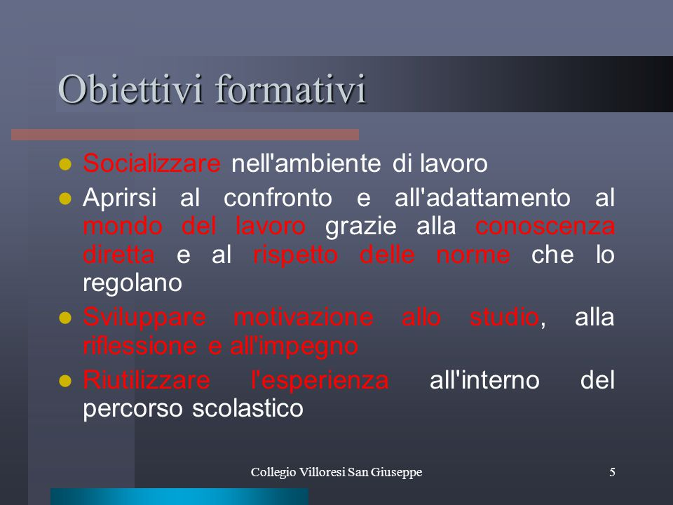 FASI STAGE Collegio Villoresi San Giuseppe16