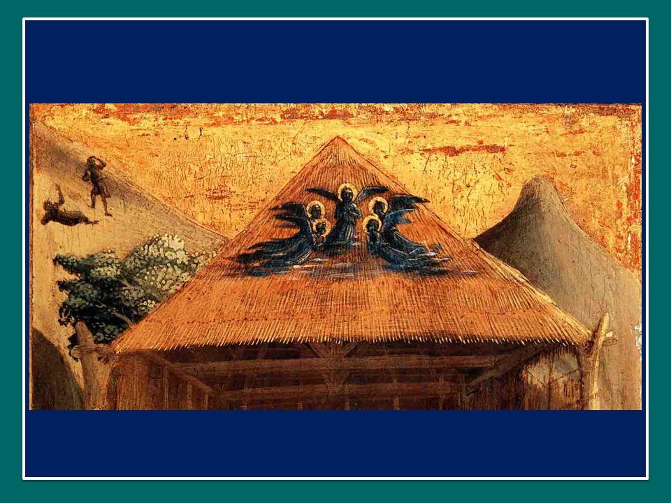 In quel frattempo, Maria, dopo aver accolto l'annuncio dell'Angelo, divenne incinta per opera dello Spirito Santo.