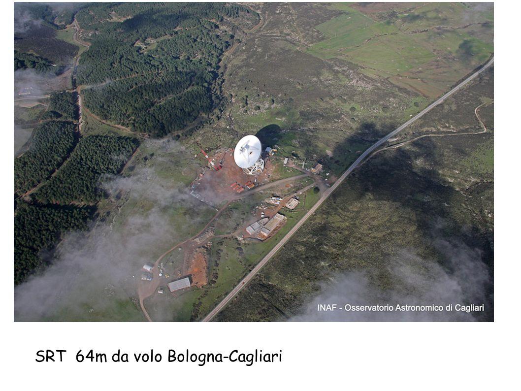 SRT 64m da volo Bologna-Cagliari