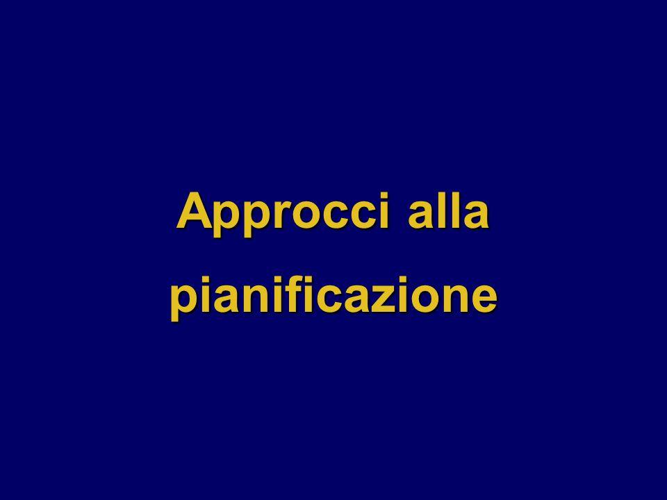 Approcci alla pianificazione