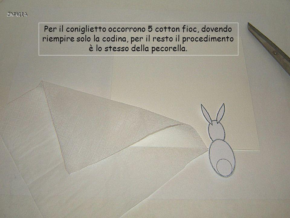 Realizziamo ora il biglietto con il coniglietto