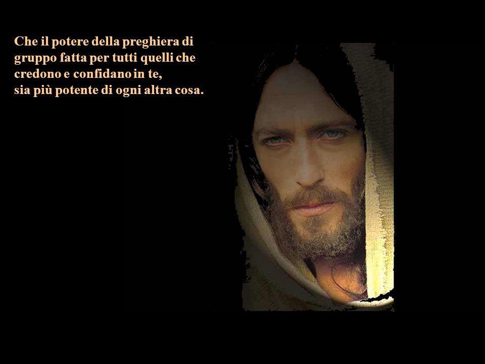 Padre celeste, Dio Amoroso e Buono, benedici abbondantemente me e la mia famiglia.