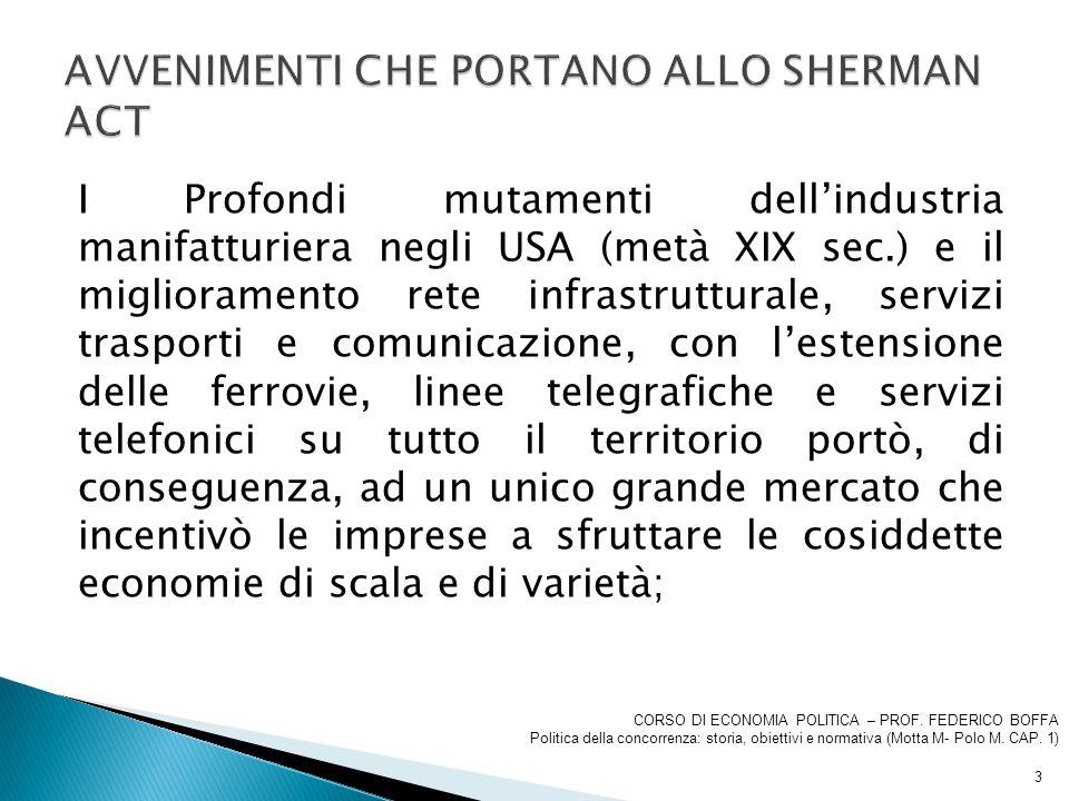 SEGUE OSSERVAZIONI Le intese verticali, ovvero gli accordi tra imprese che operano a stadi diversi del processo produttivo (es.
