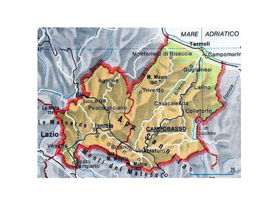 Elenco dei comuni – Provincia di Campobasso