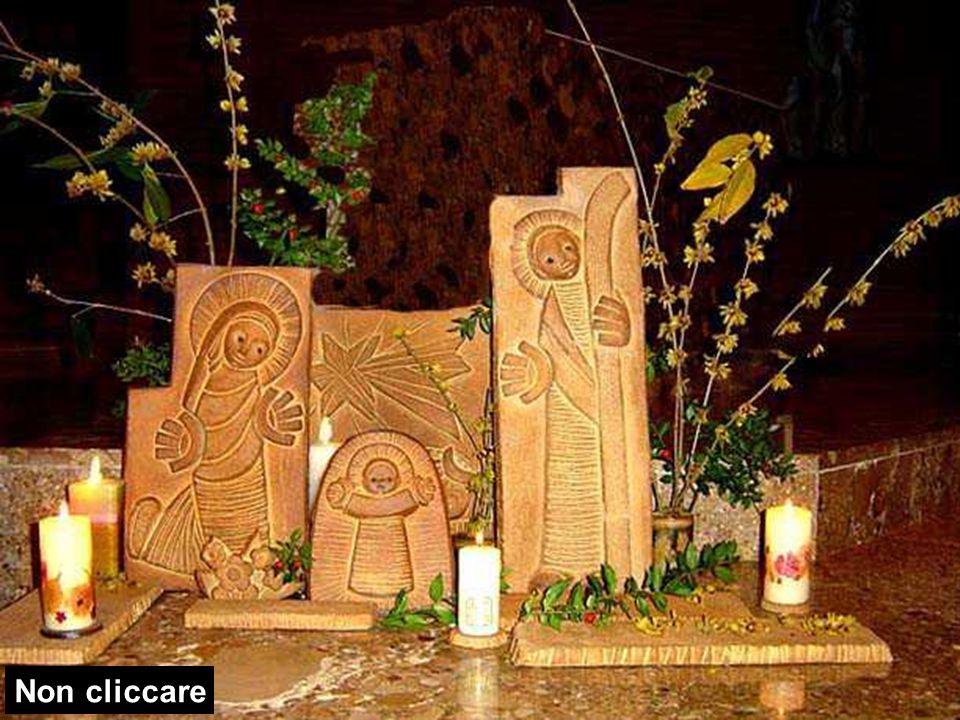 Allora Maria disse: «Ecco la serva del Signore: avvenga per me secondo la tua parola». E l'angelo si allontanò da lei.