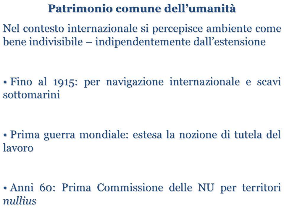 Articolo 174 (introdotto con Atto Unico Europeo 1986) Politica della Comunità in materia ambientale 1.