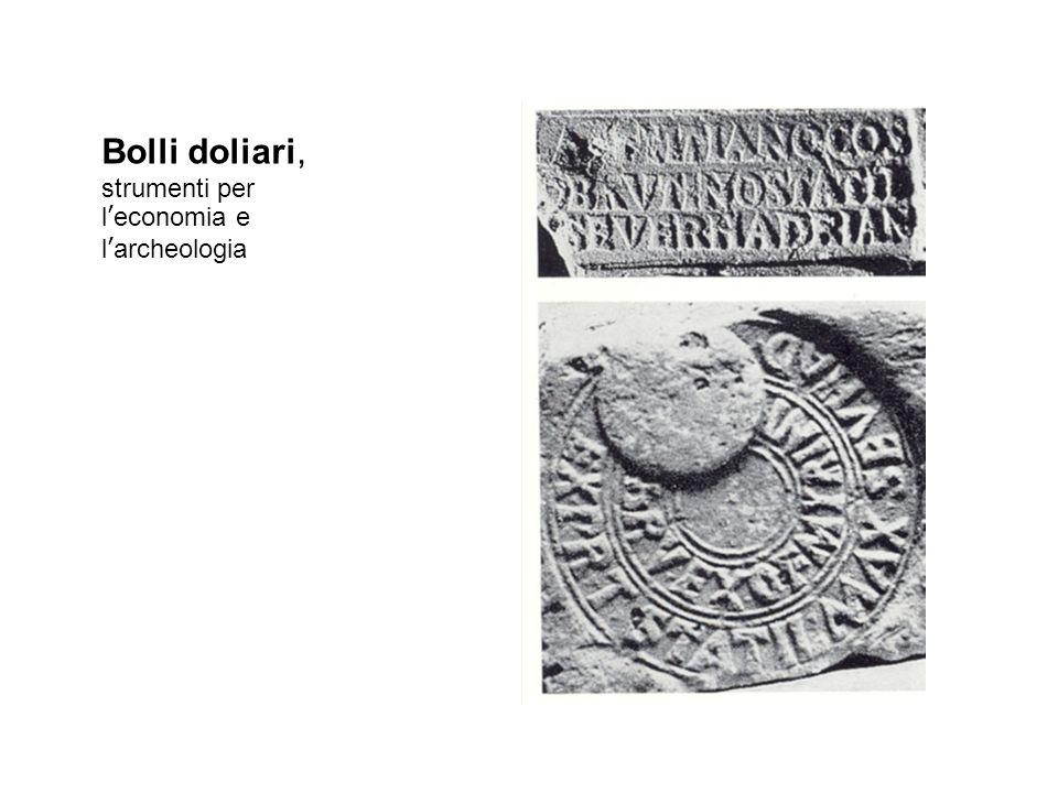 Bolli doliari, strumenti per l'economia e l'archeologia