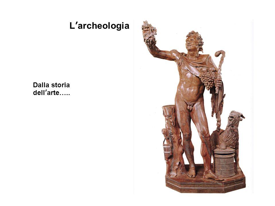 L'archeologia Dalla storia dell'arte…..