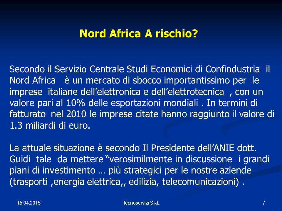Nord Africa A rischio. Nord Africa A rischio.