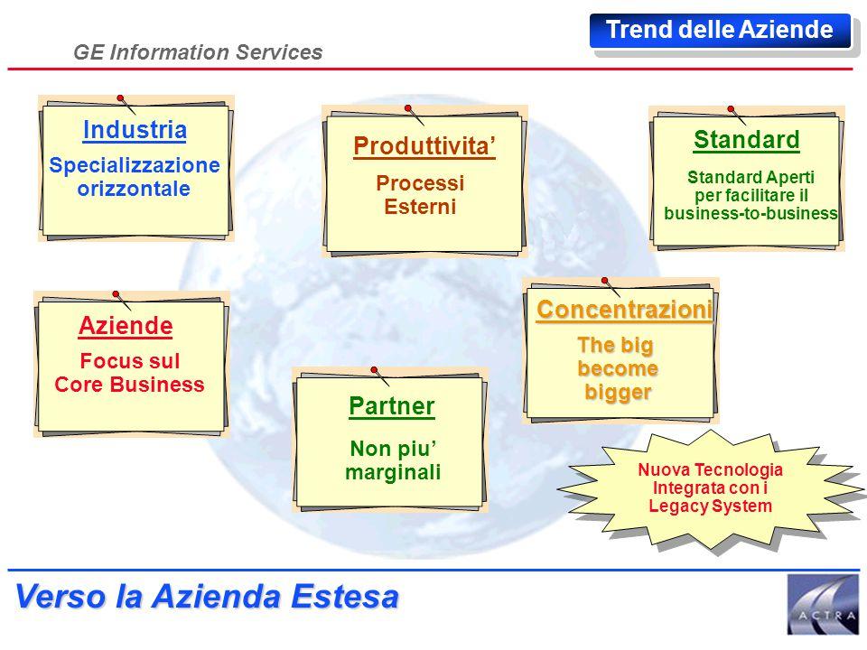 GE Information Services L'Azienda Estesa Ing. Maurizio Ammannato Marketing & Sales Support Mgr GE Information Services