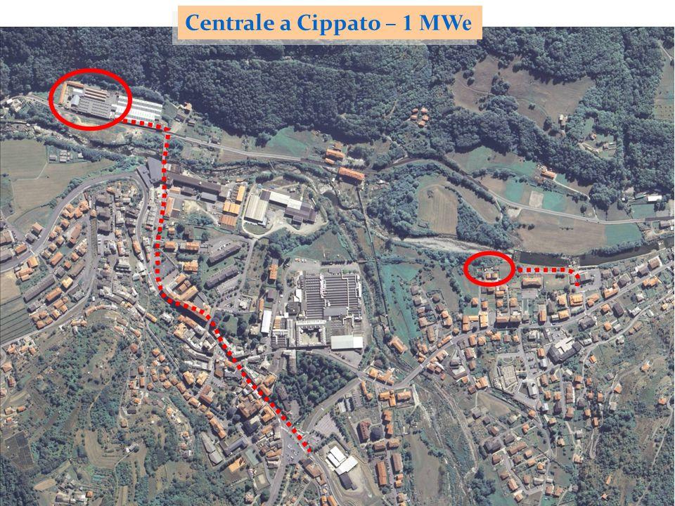 Centrale a Cippato – 1 MWe