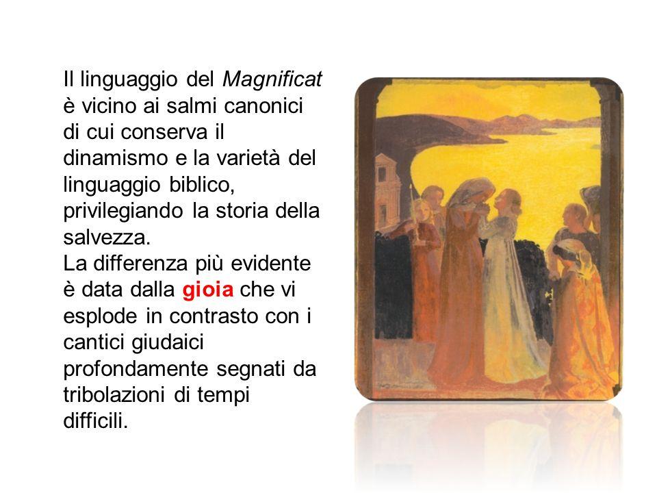 La Madonna nell'attesa del parto a volte chiamata Madonna del Magnificat è un iconografia sorta non per motivi di devozione popolare, ma strettamente connessa a disquisizioni teologiche sulla natura umana e divina del Cristo e quindi promossa dalla Chiesa ufficiale contro le eresie.