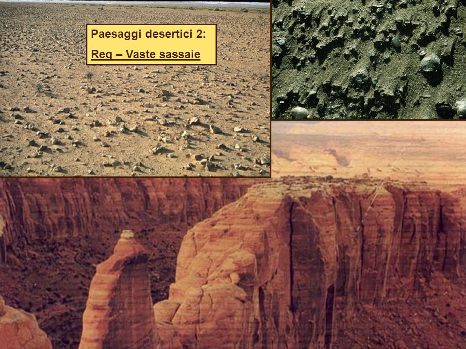 Paesaggi desertici 2: Reg – Vaste sassaie