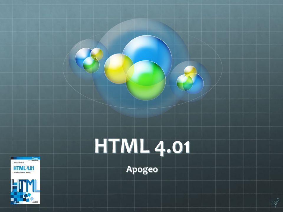 HTML 4.01 Apogeo