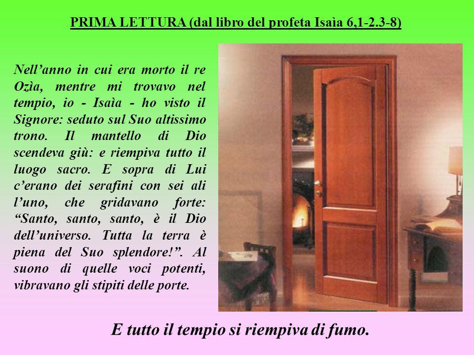 P R E C I S A Z I O N E Queste NON sono le letture della Messa originali: si tratta di mie rielaborazioni, comunque molto aderenti ai testi. I S T R U