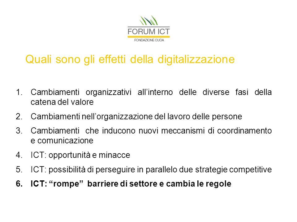 Rilevanza del fenomeno: agenda digitale europea Maggio 2010: la Commissione Europea ha presentato un ambizioso progetto di Agenda Digitale Europea al fine di favorire l'ottimizzazione del potenziale delle ICT.