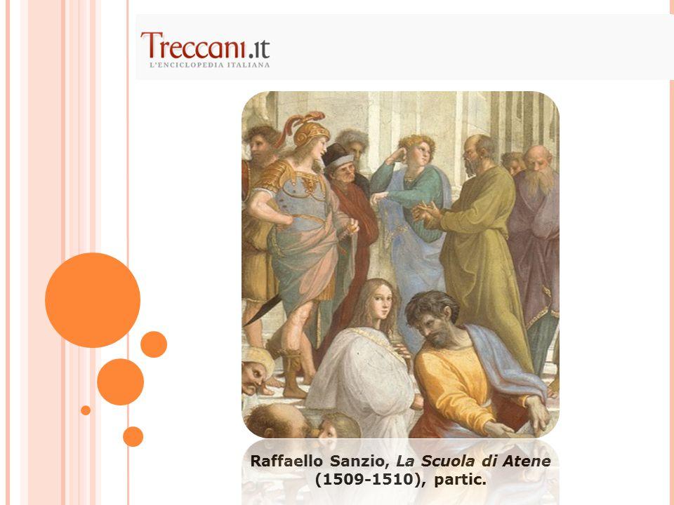 Raffaello Sanzio, La Scuola di Atene (1509-1510), partic.
