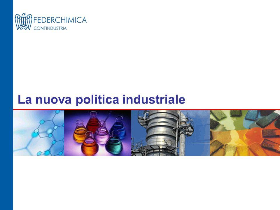La nuova politica industriale