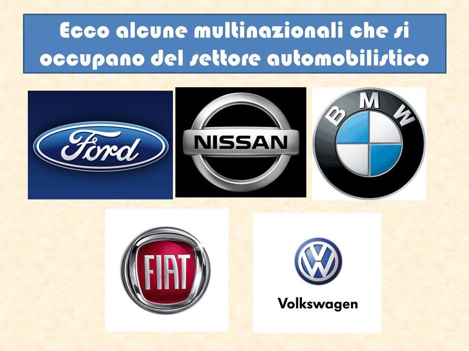 Ecco alcune multinazionali che si occupano del settore automobilistico