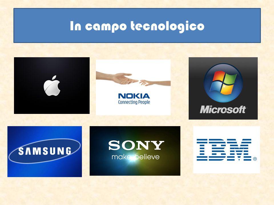 In campo tecnologico