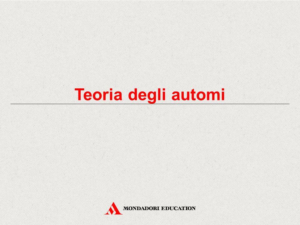 Introduzione agli automi Un particolare tipo di sistemi dinamici è rappresentato dagli automi.