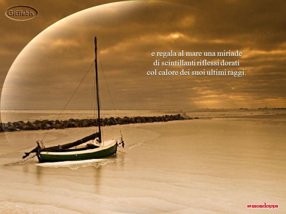 quel punto impalpabile e lontano che si delinea a confine tra l'immensità del mare e l'infinito del cielo.