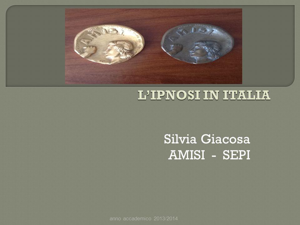 Silvia Giacosa AMISI - SEPI anno accademico 2013/2014