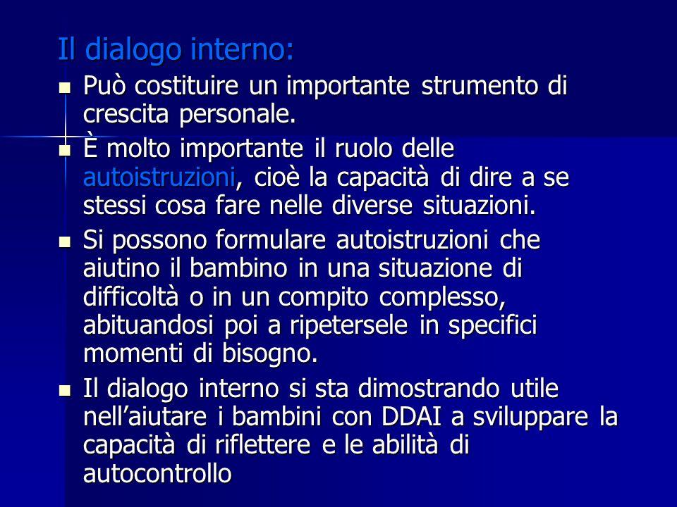 Il dialogo interno: Può costituire un importante strumento di crescita personale. Può costituire un importante strumento di crescita personale. È molt
