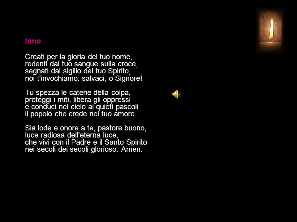 1 APRILE 2015 MERCOLEDÌ - SETTIMANA SANTA UFFICIO DELLE LETTURE INVITATORIO V. Signore, apri le mie labbra R. e la mia bocca proclami la tua lode. Ant
