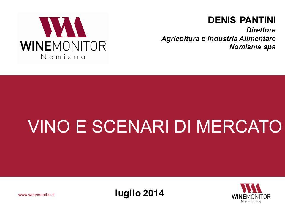 Denis Pantini Riferimenti DENIS PANTINI Direttore Area Agricoltura e Industria alimentare NOMISMA spa 051 6483188 denis.pantini@winemonitor.it www.winemonitor.it