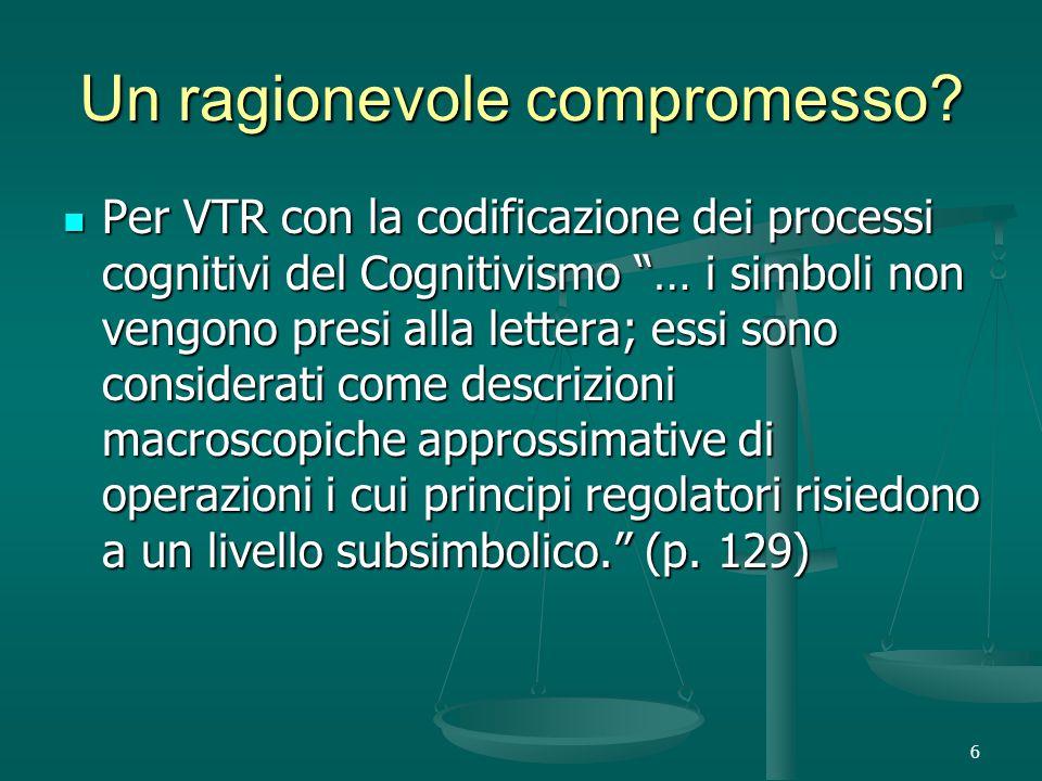 6 Un ragionevole compromesso.
