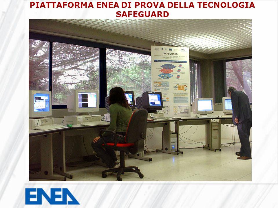 PIATTAFORMA ENEA DI PROVA DELLA TECNOLOGIA SAFEGUARD