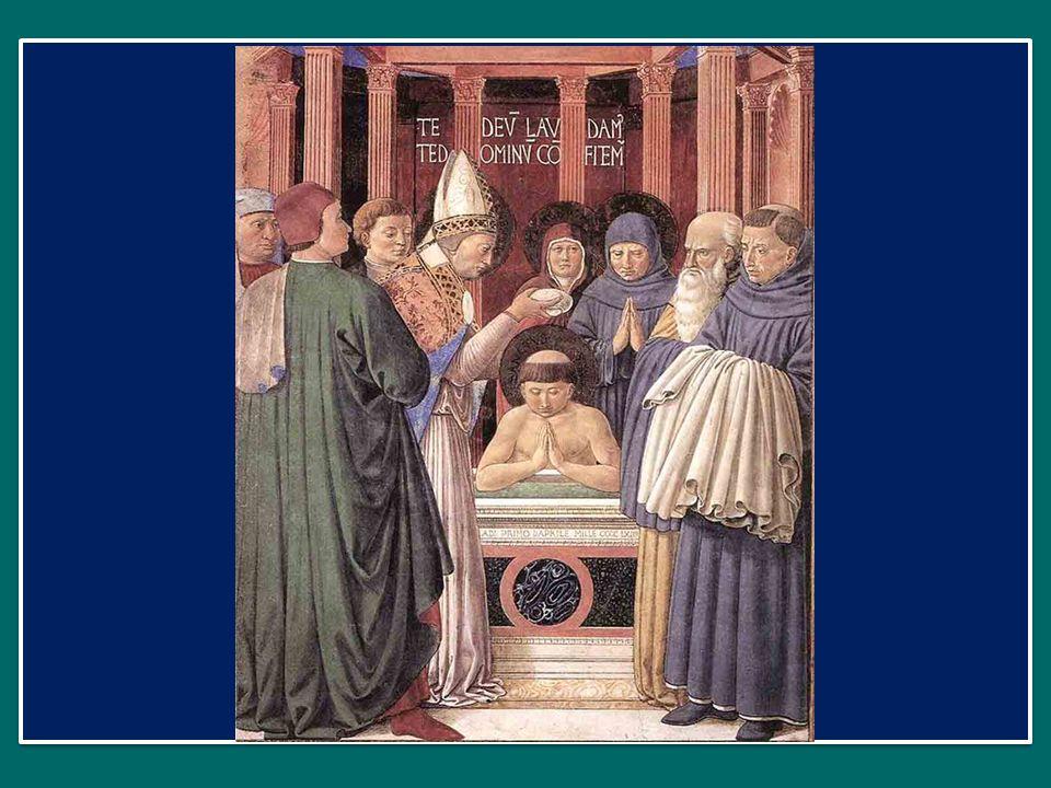 E Agostino si lascia inquietare da Dio, non si stanca di annunciarlo, di evangelizzare con coraggio, senza timore, cerca di essere l'immagine di Gesù Buon Pastore che conosce le sue pecore