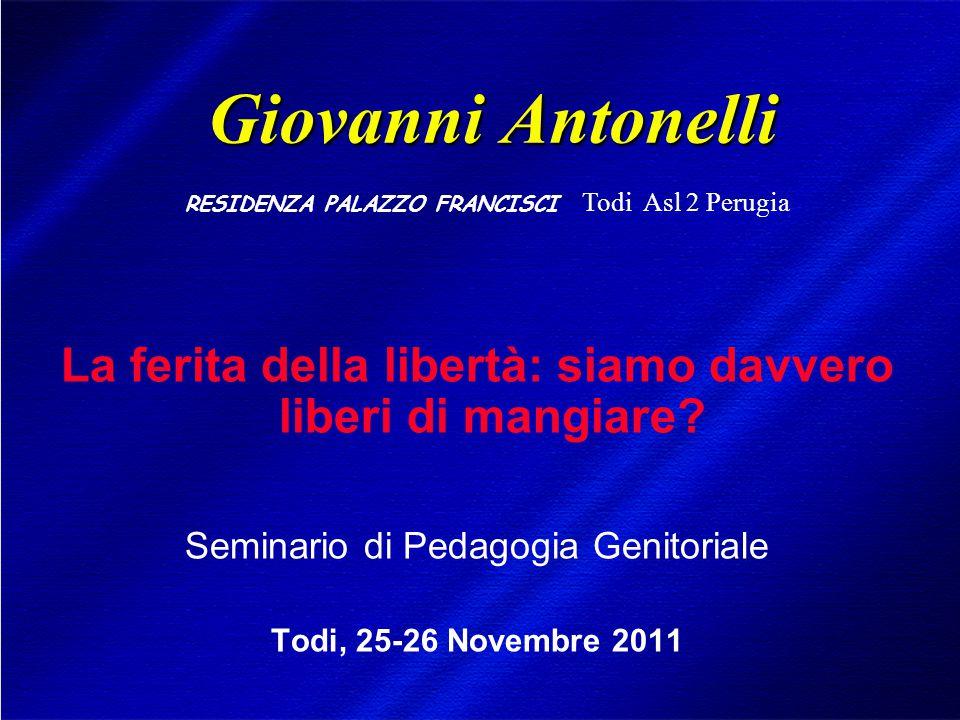 DIMISEM Perugia 2002 MANGIARE E' UNO DEI QUATTRO SCOPI DELLA VITA.